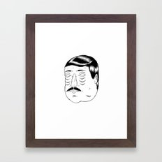 Needing some sleep! Framed Art Print
