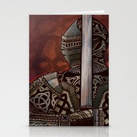 The Knotted Knight Stationery Cards
