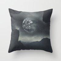 Dream Orbit II Throw Pillow