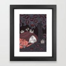 Tree of Forever Dreams Framed Art Print