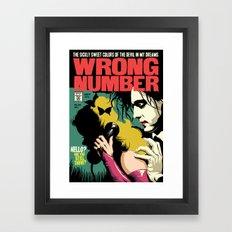 TFTS | Wrong Number Framed Art Print