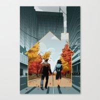 Seeking Suburbia Canvas Print