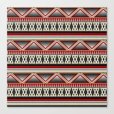 Dark Romance Tribal Canvas Print