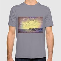 Coastal Living Mens Fitted Tee Slate SMALL