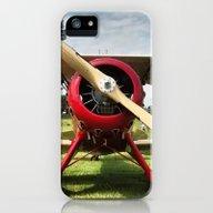 Red Plane iPhone (5, 5s) Slim Case
