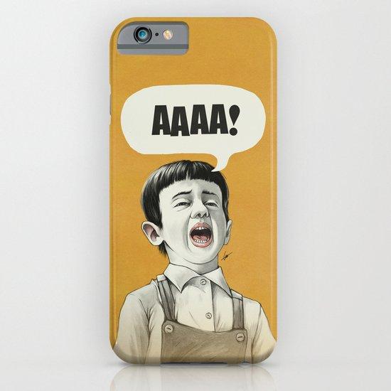 AAAA! (Golden) iPhone & iPod Case