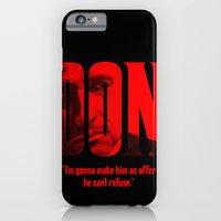 iPhone & iPod Case featuring Don Vito Corleone by DeMoose_Art