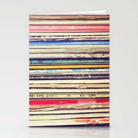 Vinyl II  Stationery Card