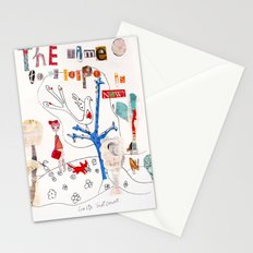The Time To Be Happy Is Now Stationery Cards