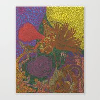 Stay in the Circus Canvas Print