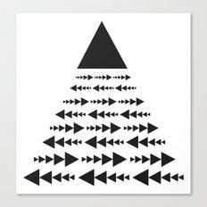 link und wachsend Canvas Print