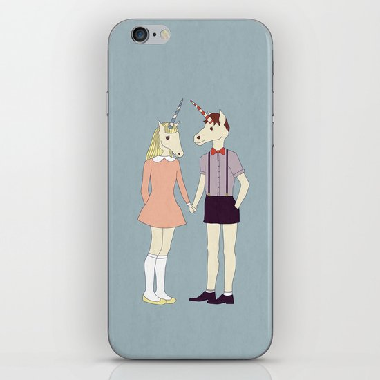 Our love is unique, we are Unicorns iPhone & iPod Skin