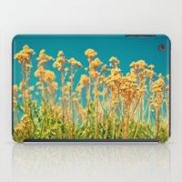 Blue & Gold & Green iPad Case