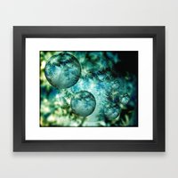 Mystery Worlds Framed Art Print