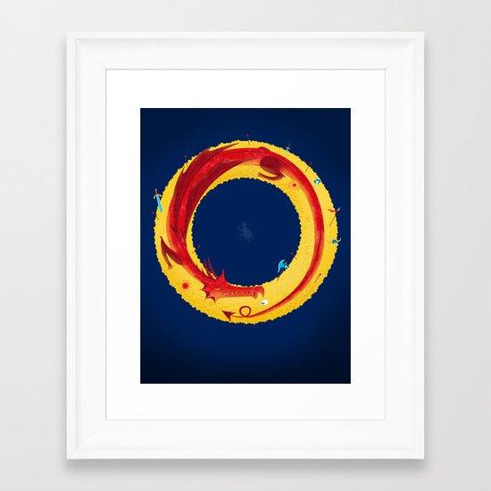 Hobbit Framed Art Print