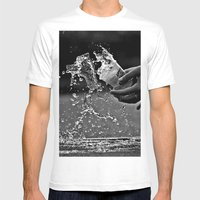Oops Mens Fitted Tee White SMALL