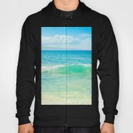 Ocean Blue Beach Dreams Hoody