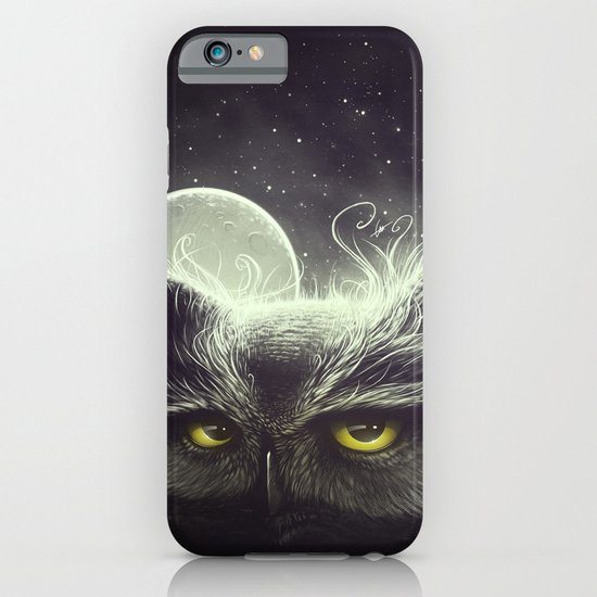 Owl & The Moon iPhone & iPod Case