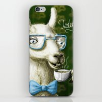 The Fancy Llama iPhone & iPod Skin