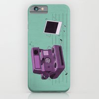 iPhone & iPod Case featuring Shake It Like A Polaroid Picture by Teo Zirinis
