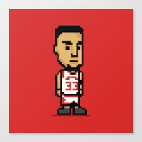 8-Bit: Scottie Pippen Canvas Print