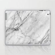 Carrara Marble Laptop & iPad Skin