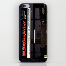 Movies over here iPhone & iPod Skin