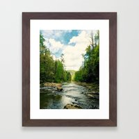 To the Broken  Framed Art Print