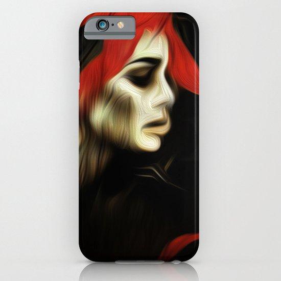portrait of sadness iPhone & iPod Case