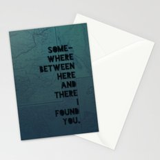 Here & There II Stationery Cards