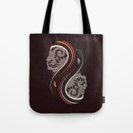 Tote Bag featuring Infinity by Sedef Uzer