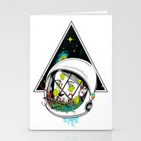 Space Gummies Stationery Cards