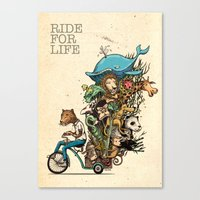 ride Canvas Print
