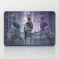 A perfect day between peacock! iPad Case