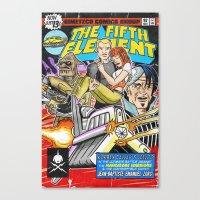 Bargain Bin: The 5th Ele… Canvas Print