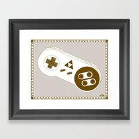 A Link To Your Past. Framed Art Print