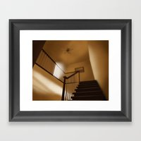 Palmer Stairs Framed Art Print