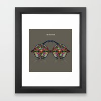 IMAGINE Framed Art Print