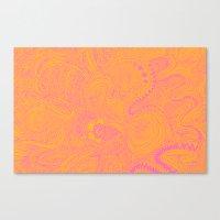 Scribblez Canvas Print