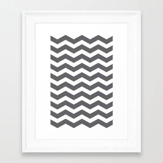 Chev Framed Art Print