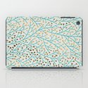 Berry Branches – Turquoise & Gold iPad Case