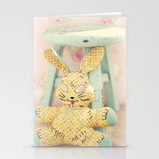 Bunny Stationery Card
