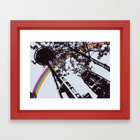 This city needs sun! Framed Art Print