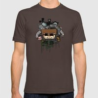CRAFT - Book Cover Mens Fitted Tee Brown SMALL