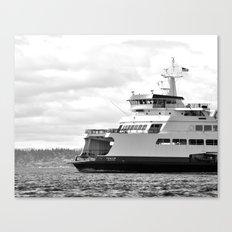 Pacific Northwest Ferry Canvas Print