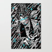 Time, Matter and Black Holes. Canvas Print