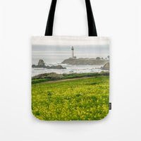 The Lighthouse Of Highwa… Tote Bag