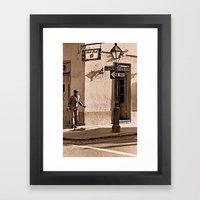 New Orleans Street Dance… Framed Art Print