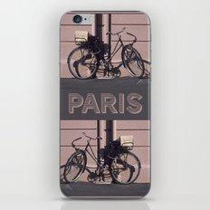 PARIS BIKE 1984 iPhone & iPod Skin