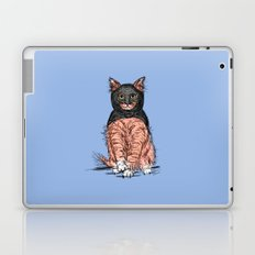 Periwinkle Pink Bat Cat Laptop & iPad Skin